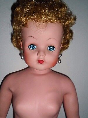 """1950's Grocery Store Dolls by Deluxe Reading?  27"""" tall Rubber Body"""