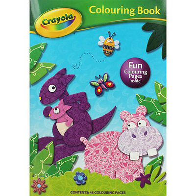 Crayola In The Wild Colouring Book (Paperback), Children's Books, Brand New