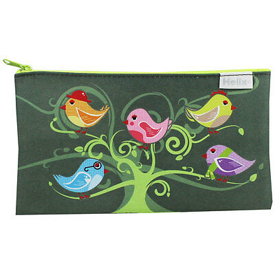 Little Birds Pencil Case, Stationery, Brand New
