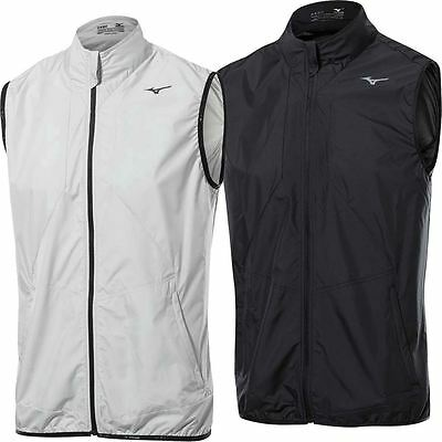 Mizuno 2017 Wind Vest Ultralight Mens Windlite Performance Golf Gilet