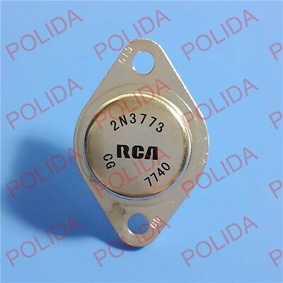 1PCS Audio Power AMPS Transistor RCA/ST/TI TO-3 2N3773 100% Genuine and New