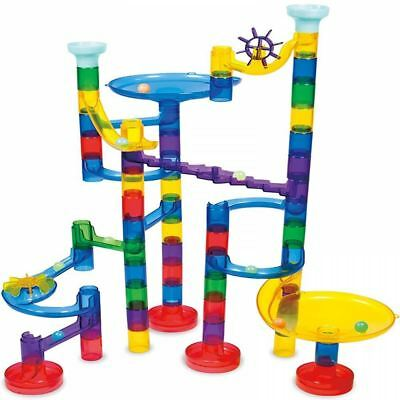 Galt Super Glow Marble Run Race Construction Maze Ball Track Building Toy Game