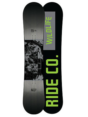 Ride Wild Life Wide All Mountain Snowboard 2017 Größe: 159w