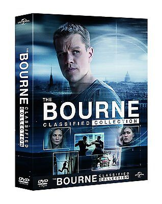 The Bourne Collection  5 Dvd   Digibook  Cofanetto