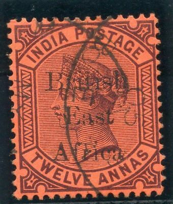 British East Africa 1895 QV 12a purple/red very fine used. SG 58. Sc 65.