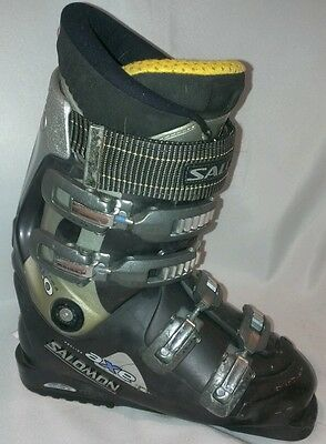 SALOMON PROLINK AXE PERFORMA 8.0 DOWNHILL SKI BOOTS MENS 6
