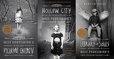 Miss Peregrines Home for Peculiar Children 3 Book Set Collection
