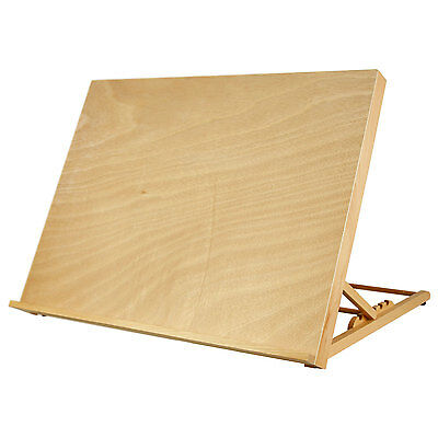 "US Art Supply X-Large 25-5/8"" x 19"" (A2) Artist Adjustable Wood Drawing Board"