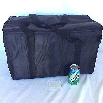 BLACK Thermal Stay Cool LARGE Tote Insulated Cooler Longaberger TAILGATE PARTY