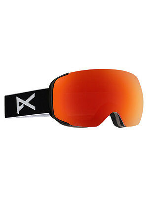 Anon M2 Snow Goggles Farbe: black/red solex