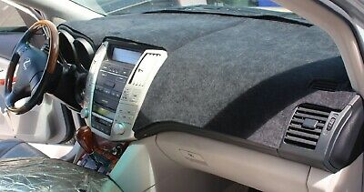 Cadillac Deville 2000-2005 No NVD Brushed Suede Dash Board Cover Mat Black
