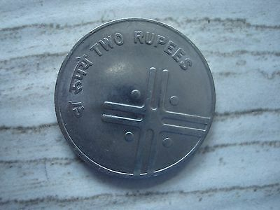 INDIA 2 Rupees 2006  coin