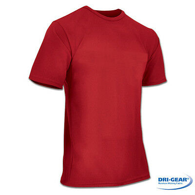 Champro Dri-Gear Competitor Youth Large T-Shirt, Red -NEW- Retail: $19.99