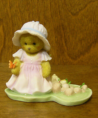 """Cherished Teddies #4032208 AUBREY """"HAPPINESS IS IN A SUMMER'S DAY"""" New/Box 3"""""""