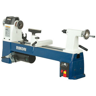 RIKON 70-220VSR 12.5 x 20-Inch 1-Hp Heavy Duty Compact Variable Speed MIDI Lathe