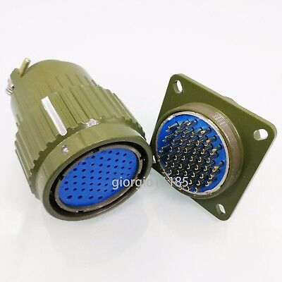 New Military 50-Pin Male Female Circular Connector Y2M-50TK/ZJ YP36-50