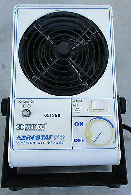 SIMCO Aerostat PC Neutralizing Ionizing Heated Air Blower Blue 230VAC