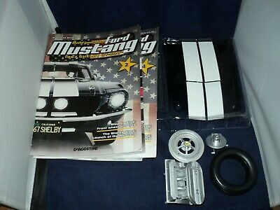 Deagostini Ford Mustang Shelby GT 500 - Issue 1 - the front bumper