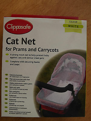 Baby Pram/Carrycot  Cat Safety Net Fits Silver Cross, ICandy etc