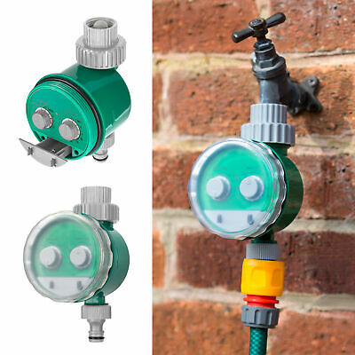 Automatic Electronic Water Timer Hose Tap Irrigation Plant Watering Daily 24hr