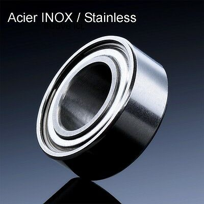 ROULEMENT A BILLES 6x17x6 INOX SMR 606 ZZ (1pc MOULINET REEL RC STAINLESS STEEL