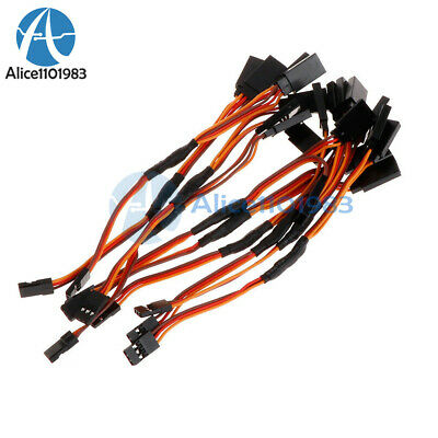 10PCS 150mm Servo RC Y Style Male to Female Extension Lead Cable JR Wire Cord