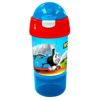 Thomas and his Friends - 2 in 1 Bottle with Snack Box 380 ml - The Little Engine