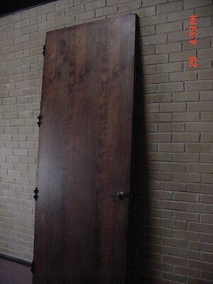 """Wood Core Fire Door by Marshfield Size 36"""" x 96"""" In Exc. Condition Reduced Price"""