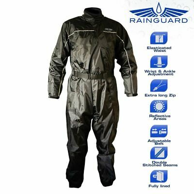 Rainguard One Piece Waterproof Motorcycle Over Suit Large