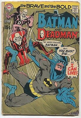 The Brave And The Bold- Batman And Deadman  #86 GD/VG   DC Comics   SA