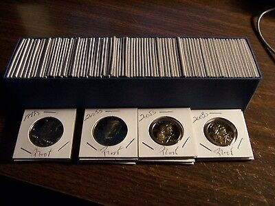 (100 Coin Lot) L@@k-The Best U.s.a. Proof Coins-Free Ship-No Duplicates In-1 Box