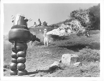 Invisible Boy/robby The Robot/1957/ 8X10 Photo From Original Neg. Cc19446  4-57