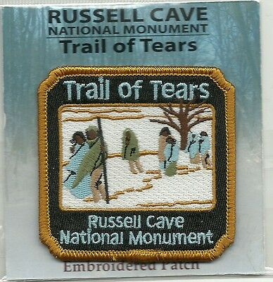 Russell Cave National Monument, Alabama Souvenir Patch