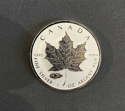 2016 $5 SILVER Maple Leaf TANK WWII PRIVY mark - Reverse Proof