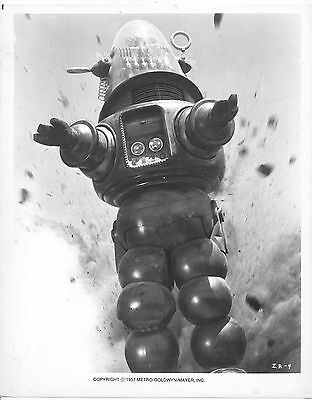 Invisible Boy/robby The Robot/1957/ 8X10 Photo From Original Neg. Cc19467  4-57