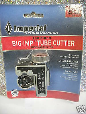 TUBE CUTTER Imperial Professional w/Spare Cutting Wheel