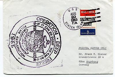 1965 USS Staten Island AGB-5 Deep Freeze Polar Exploration Antarctic Cover