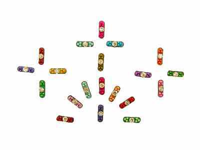 Exciting Modern Bindi Dot Shape Indian Bollywood Body Stickers