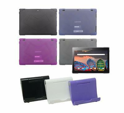 """TPU Case + Tablet Stand Holder for Lenovo Tab 10.1"""" TB-X103F Tablet 2016 Release"""
