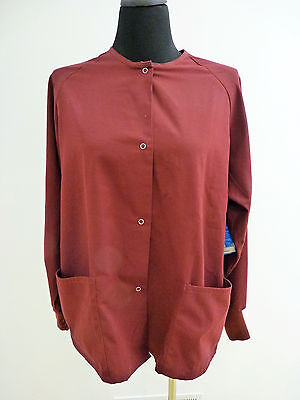 GelScrubs Unisex Medical Scrub Nursing Jacket 6563 Size XS to 5XL Many Colors