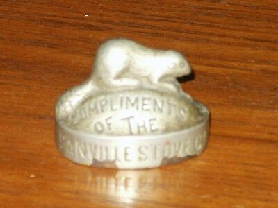 Vintage Advertising Paperweight Compliments of Danville, PA Stove Co. 1898