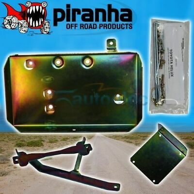 Dual Battery Tray Suit Toyota Hilux 25 Series 3L Tdi & 4.0 V6 2005-8/2015 Bth05