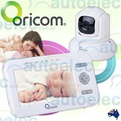 "Oricom Secure Sc850 4.3"" Digital Wireless Video Baby Monitor Camera New Babies"