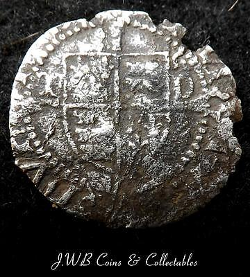 Henry VIII Sovereign Type Penny T-D Beside Shield Durham