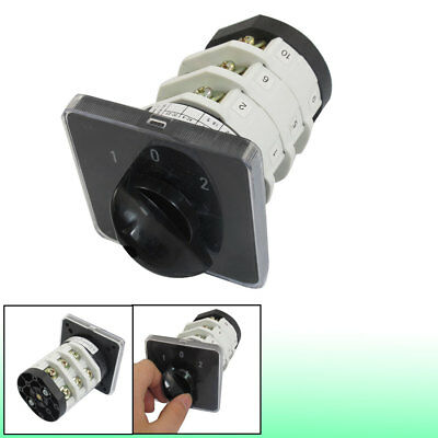 Ui 690V Ith 32A ON/OFF/ON Position 12 Terminals Rotary Cam Changeover Switch