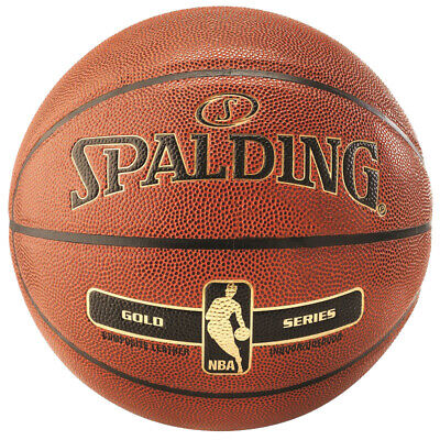 Spalding NBA GOLD IN/OUT Basketball orange Indoor/Outdoor Streetbasketball Gr. 6