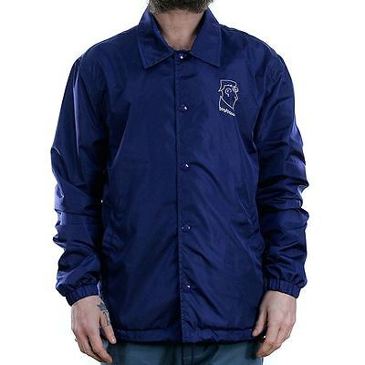 Polar Skate Co Doodle Coach Jacket Dane Navy Coat New Free Delivery Palace