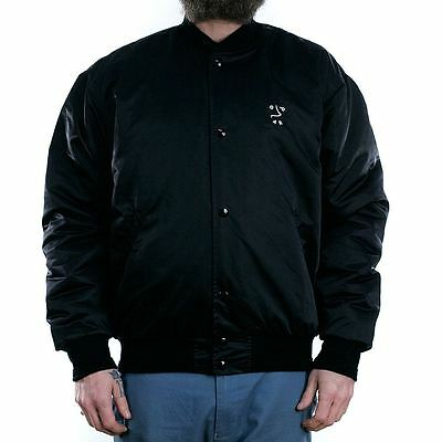 Polar Skate Co College Jacket Black Coat New Free Delivery Palace Supreme