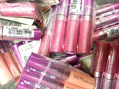 Maybelline Watershine Lip Gloss Wholesale Joblot Pack Of 24 Assorted Colours