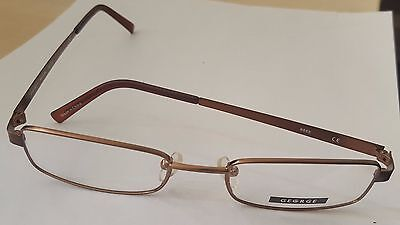 Unisex George Clear Lense Glasses Frame Metal Fashion Specs Spectacles Eye wear